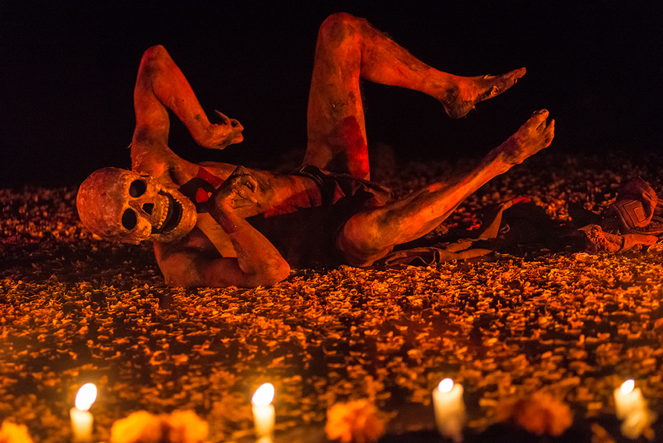 La danza de la muerte de Shanti Oyarzabal