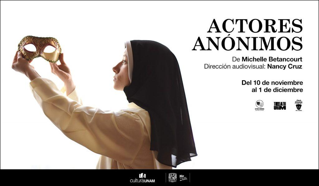 Teatro UNAM  Actores anónimos