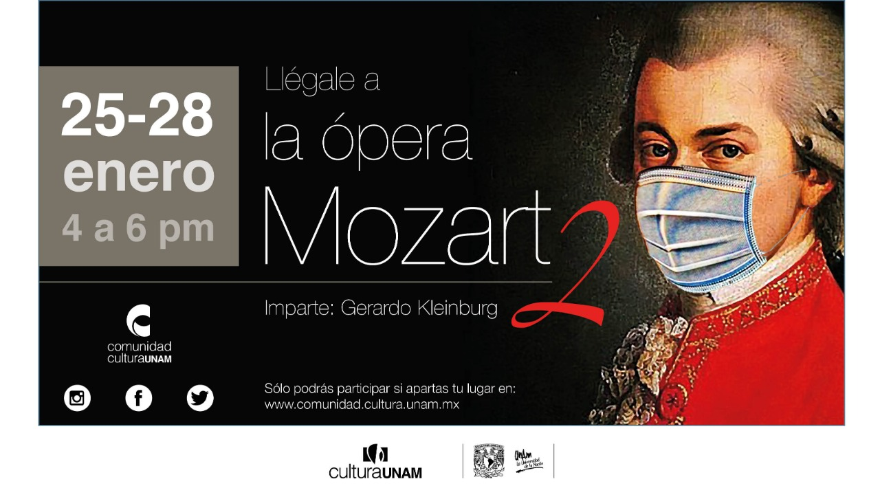 Curso  Llégalea la Ópera - Mozart 2